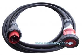 Newmacey 25M 3 Phase 32a Extension cable